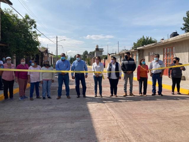 Obras por más de 11 millones de pesos entrega Gobierno del Estado en Maravatío