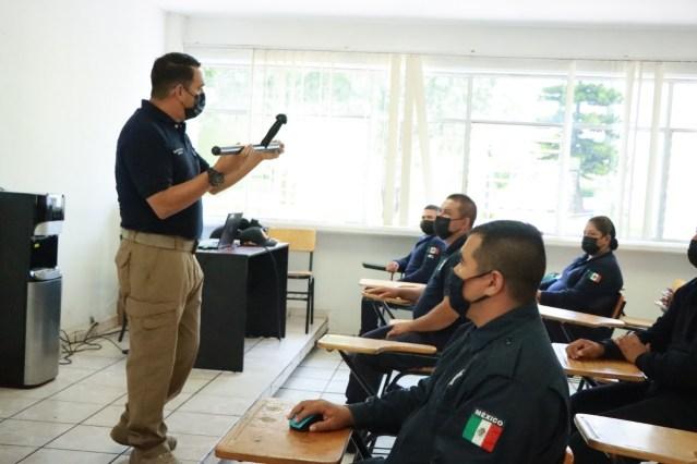 Capacitó IEESSPP a mil 800 funcionarios de Guardia Nacional