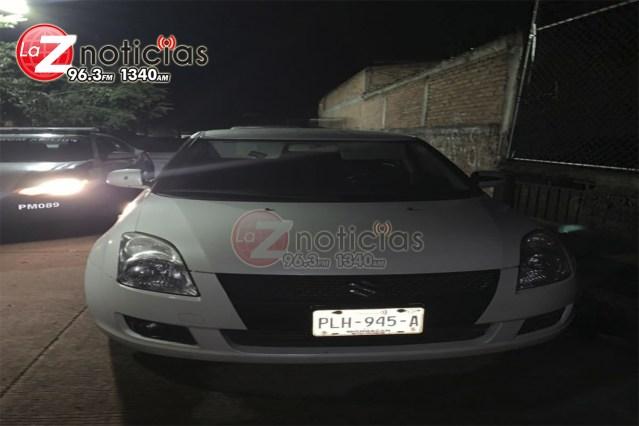 Durante operativo, Policía Morelia recupera vehículo con reporte de robo