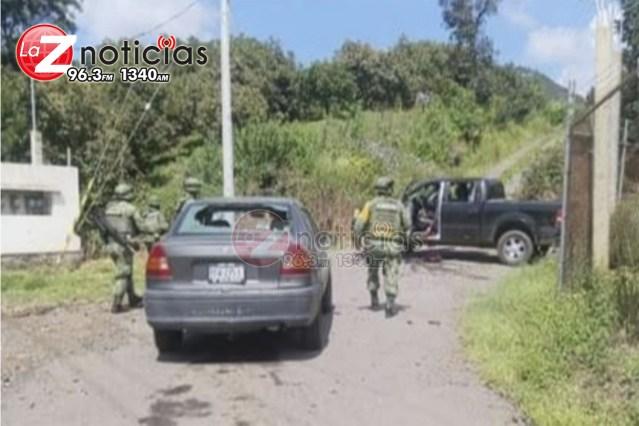 Se enfrentan civiles armados en Tiamba; hay un muerto