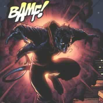 Bamf indeed! And then he's gone. So, cool.