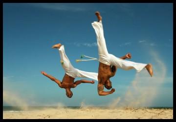 danseurs de capoeira