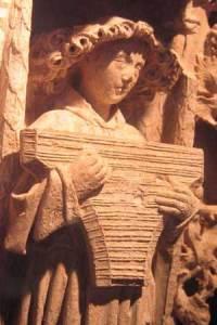 psaltérion cathédrale de Saintes
