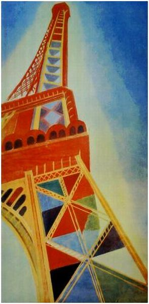 paris robert_delaunay_Tour Eiffel