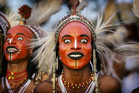 BBC Human Planet : Wodaabe Gerewol , Niger , Africa