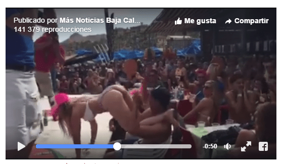 #VIDEO: Profesora pierde empleo en colegio por video de baile erótico