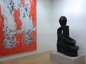 Georg Baselitz Art | Basel 2013 (Oeuvre : droits réservés aux ayants droits / photo : alain walther)