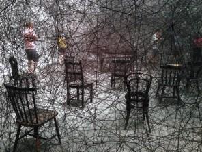 Chiharu Shiota Art | Basel 2013 (Oeuvre : droits réservés aux ayants droits / photo : alain walther)