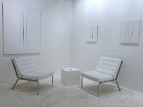 Lucio Fontana Art | Basel 2013 (Oeuvre : droits réservés aux ayants droits / photo : alain walther)