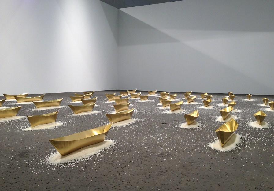Wolgang Laib Art | Basel 2013 (Oeuvre : droits réservés aux ayants droits / photo : alain walther)