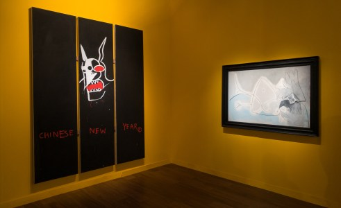 Basquiat Picasso art basel 2016 alain walther