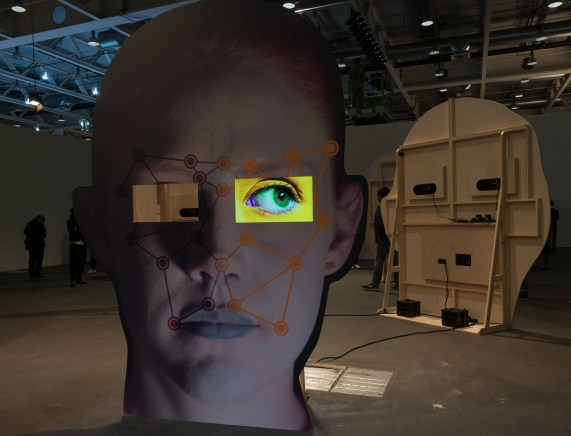 tony oursler art basel 2016 alain walther