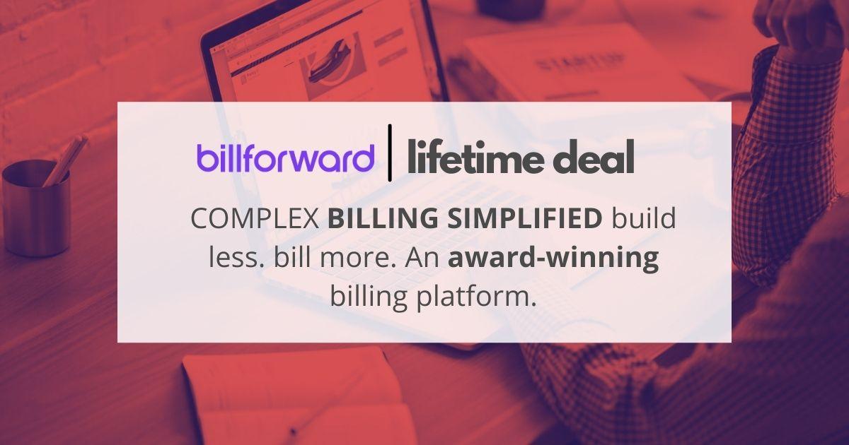 Billforward-appsumo-lifetime-deal