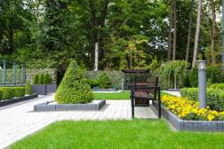 Lazurniy Bereg Holiday Villas And Vacation Rentals Outdoor Gardens and Sitting Area