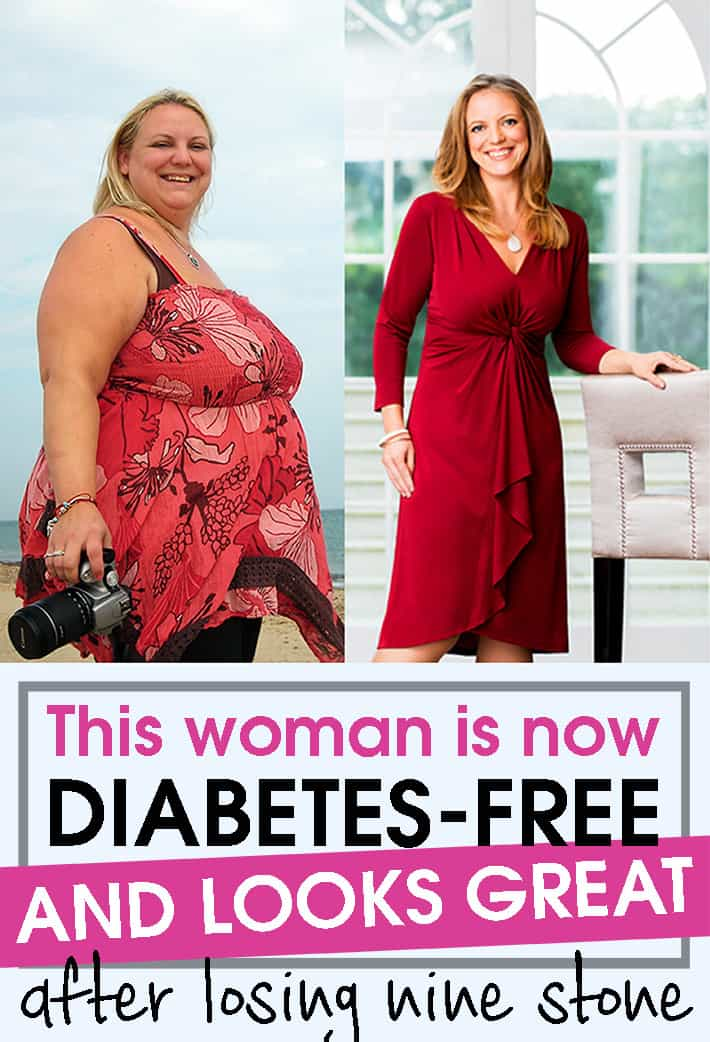 This woman is now diabetes-free and looks great after losing nine stone