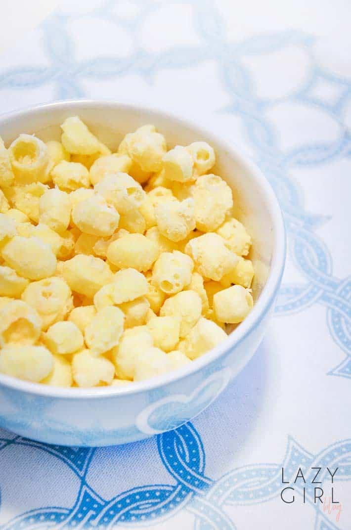 One Ingredient Low Carb Popcorn - Keto Cheese Puffs image