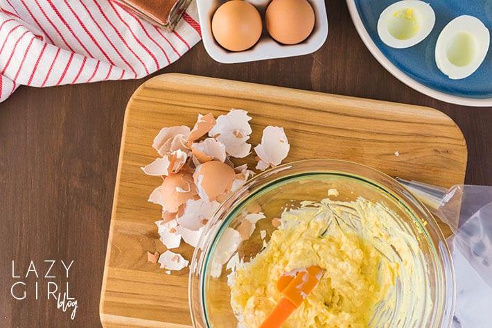 Egg Fast Deviled Eggs recipe