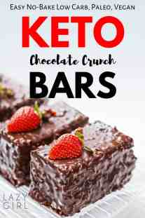 Low Carb Keto Chocolate Bars