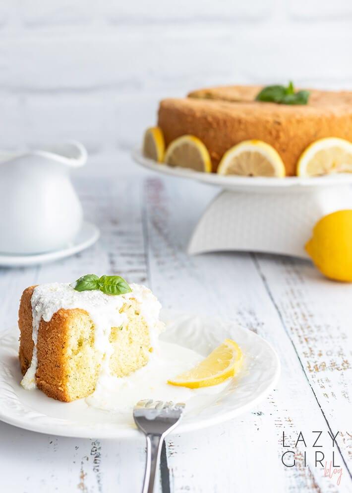 Easy Keto Lemon Cake