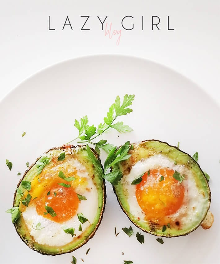 Baked Avocado Eggs Keto Breakfast Recipe