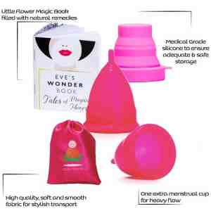 Menstrual Cups Set Parts