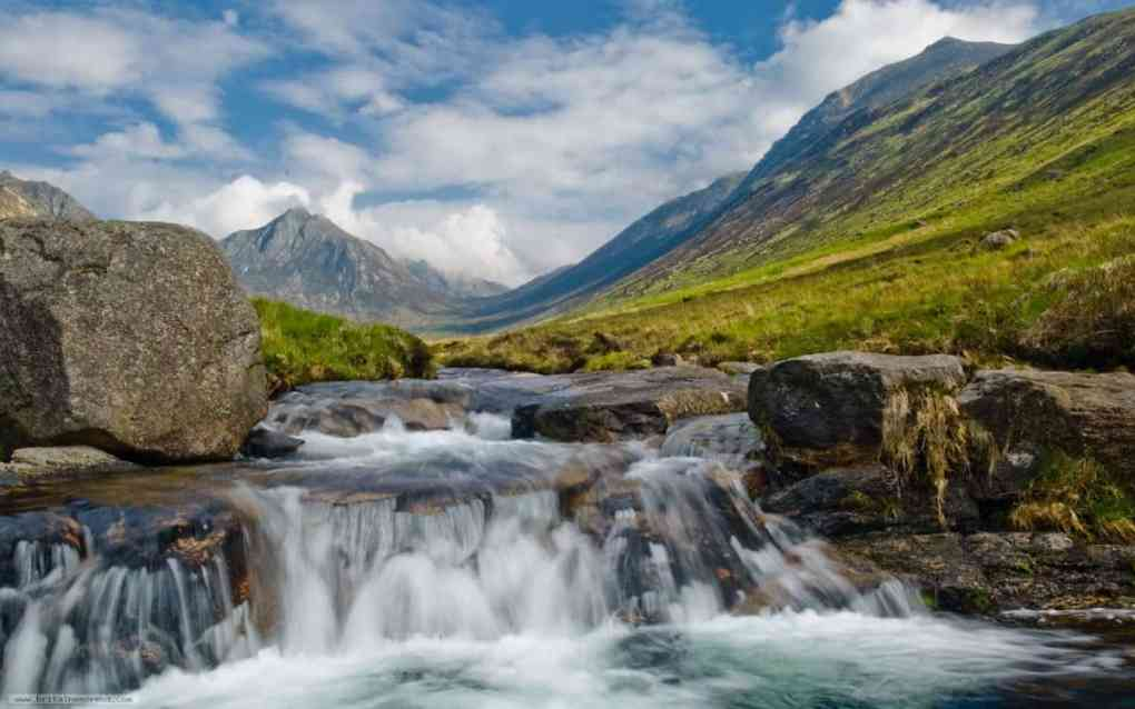 The Isle of Arran Scotland- great for camping and nature hammocks