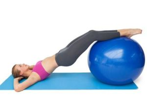Exercise Ball - Hip Lift