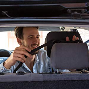 Install baby car seat mirror rear