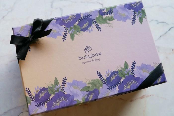 butybox體驗盒開箱 | 每個月給自己的一個小驚喜