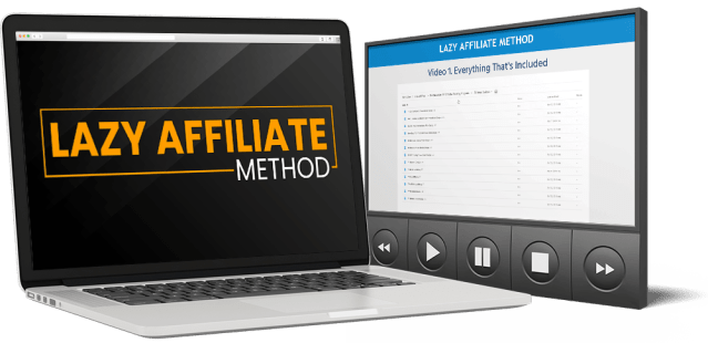 Build A Complete Done For You Affiliate Marketing System using The Lazy Affiliate Method 1