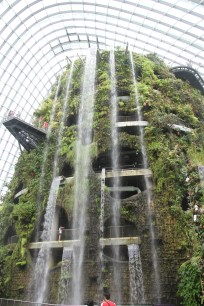 Indoor Man-made Waterfall