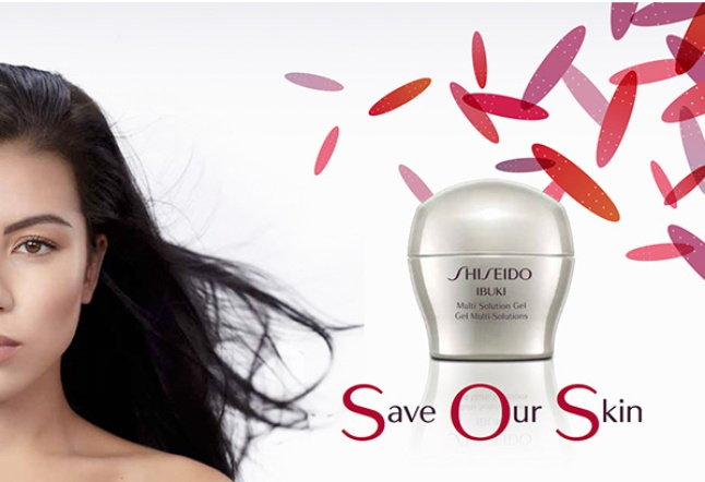 Shiseido multi solution gel ibuki Save Our Skin SOS