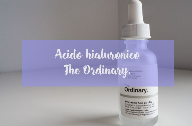 acido hialuronico - the ordinary