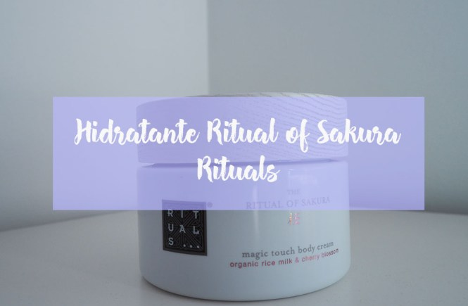Ritual of sakura - hidratante