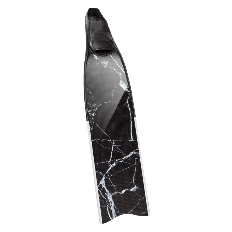 Pro- Marble Carbon Fins – Glossy
