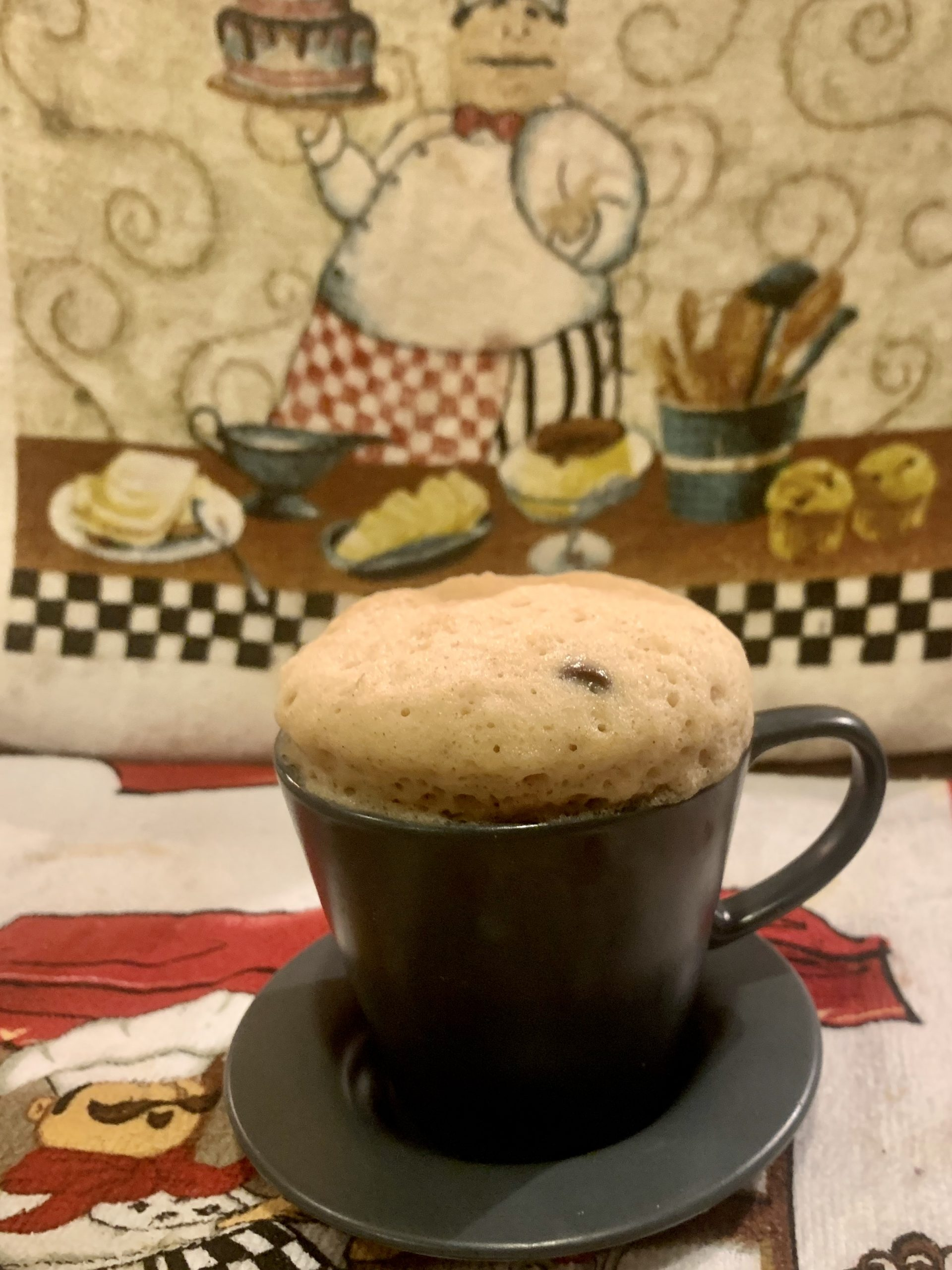 Quick n Easy Chocolate-Banana Mug Cake