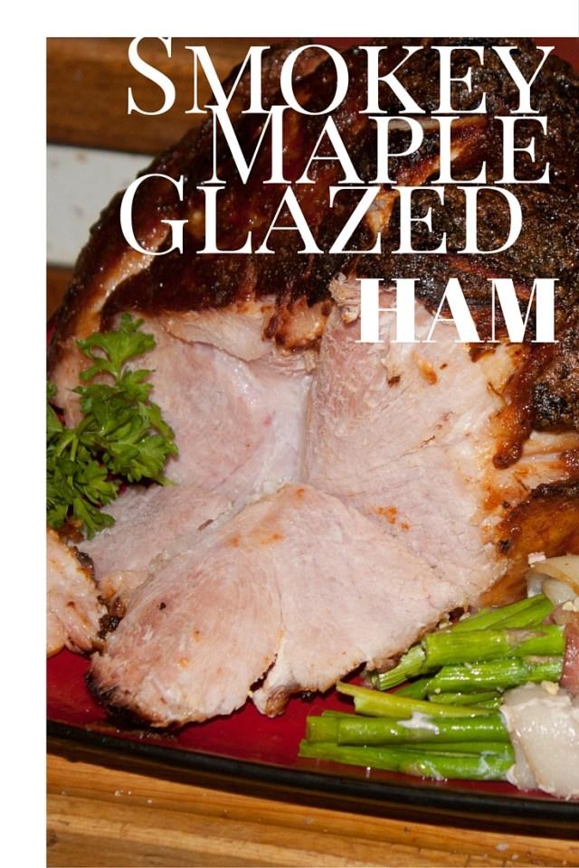 Smokey Maple glazed ham (1)