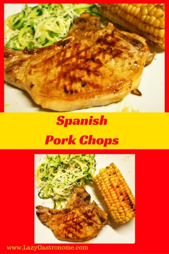 SpanishPork Chops