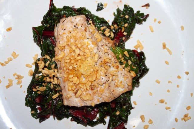 deliciously seared salmon