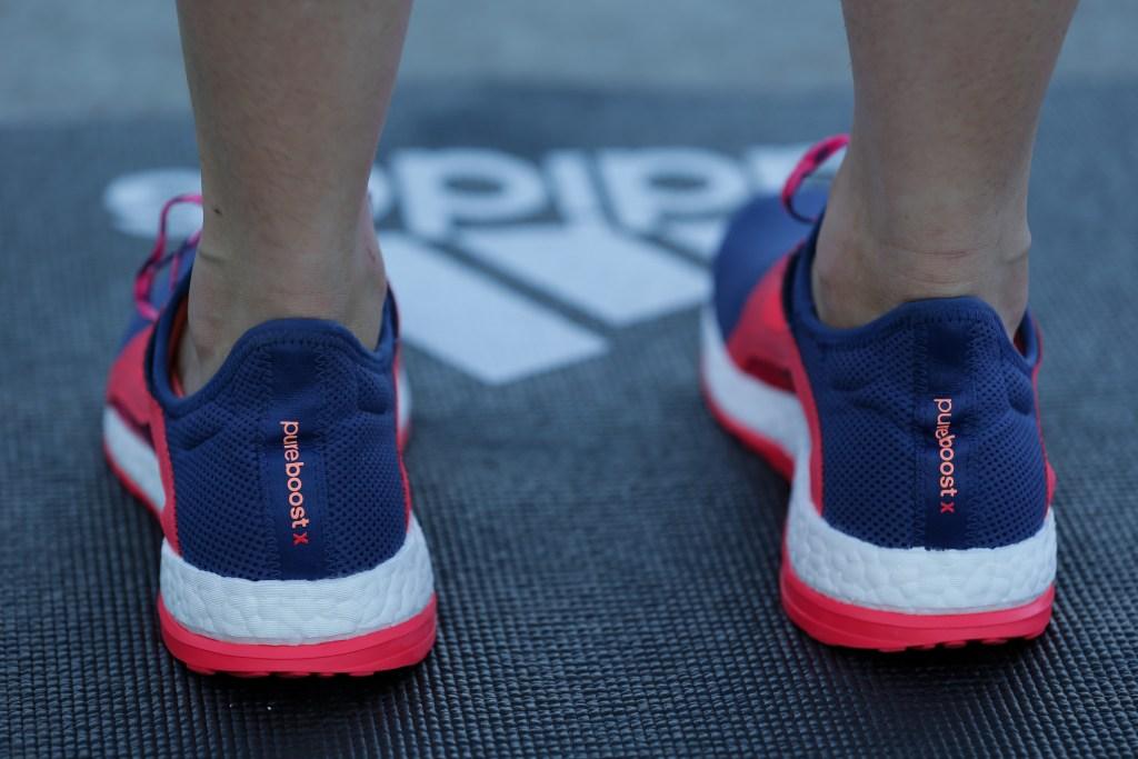 during the adidas PUREBOOSTX Launch at Goat Island on February 2, 2016 in Sydney, Australia.