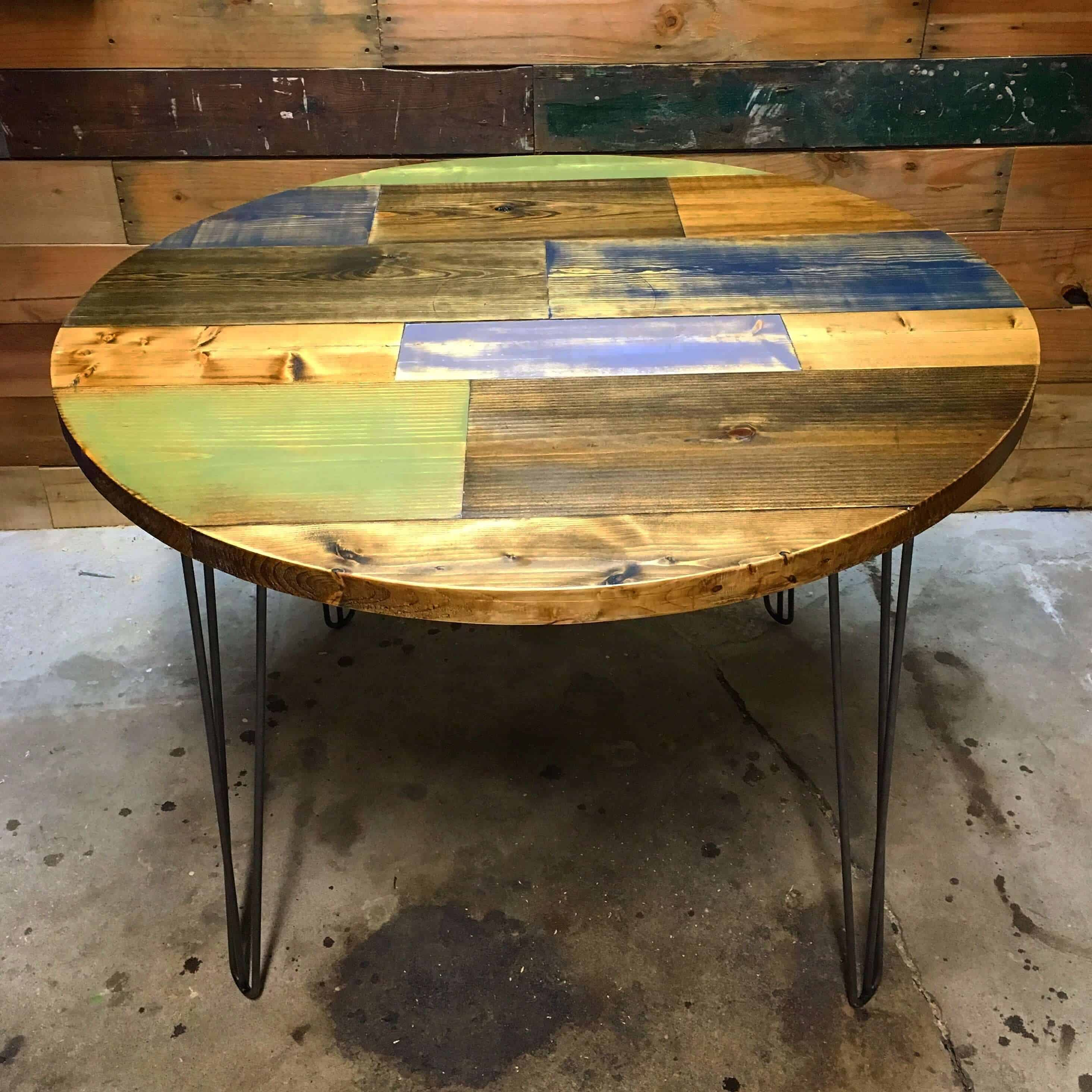 round top timothy table tutorial lazy