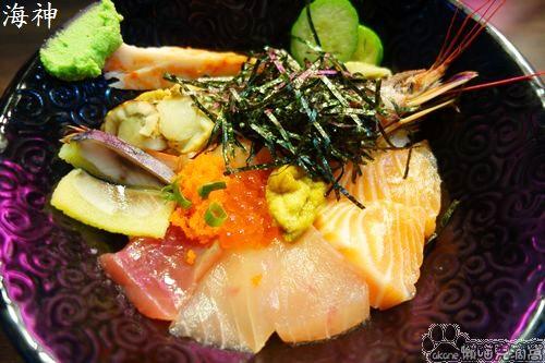 海神平價生魚片丼飯