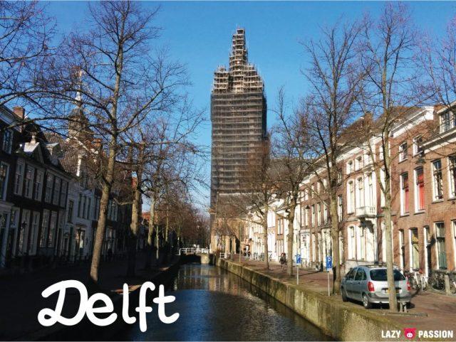 Delft old church