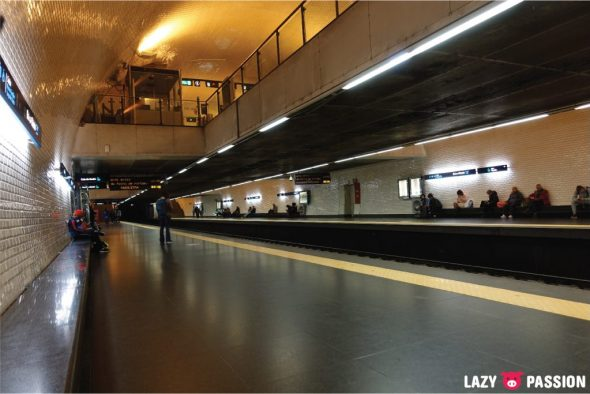 Lisbon 2018 metro subway