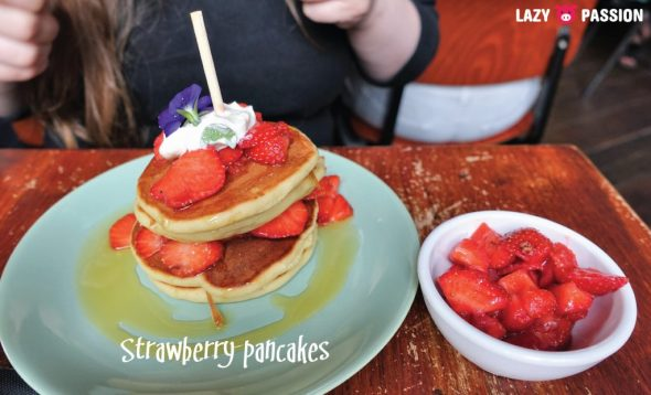 Lilith Rotterdam strawberry pancakes