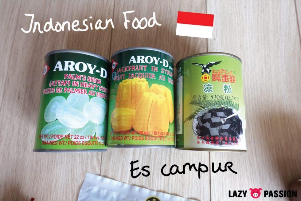 Amazing oriental haul Indonesian food