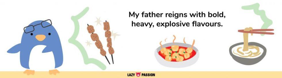 heavy explosive flavours