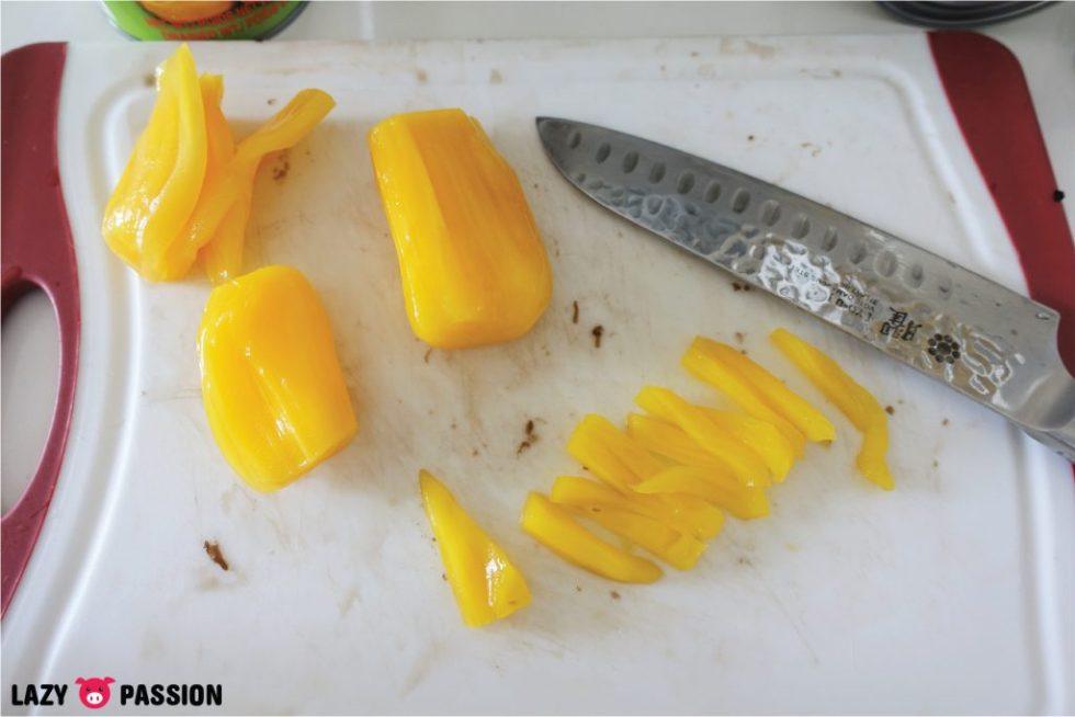 es campur jackfruit