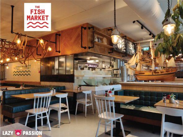 The Fish Market Rotterdam interior