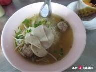 pork noodle breakfast